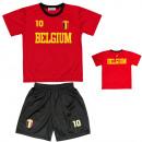 groothandel Sportkleding: Samen Jersey Child  Soccer EURO BELGIË. K805