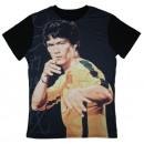 T-shirt Homme Bruce Lee Imprimé . H847