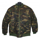 wholesale Coats & Jackets: BOMBER JACKET MAN  MILITARY - K.WEST - Y869
