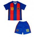 wholesale Sports Clothing: Barcelone Kids Soccer Jersey Set. D59