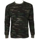 grossiste Vetement et accessoires: T-shirt Manches  Longues Militaire Homme . MC-50 .