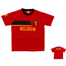 T-Shirt football  shirt EURO Male belgium. D31