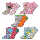 SET SOXO Women's foot socks - 5 pack