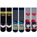 SOXO men's socks BatmanSuperman 3 pairs 40-45