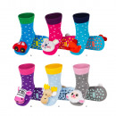Socks for babies SOXO socks with rattle