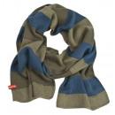 Schal männlich, SOXO elegant gestreiften Schals