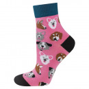 SOXO socks, women's colorful patterns