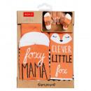 Großhandel Strümpfe & Socken: SOXO Foxy Mama / Cleveres kleines Fuchs-Set