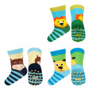 Großhandel Strümpfe & Socken: SOXO Babysocken mit Bauchmuskeln 6 Paar - TIERE