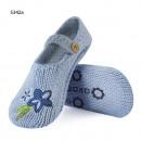 Frauen gestrickte Hausschuhe SOXO Schuhe blau