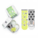Set: SOXO socks in a pattern - rabbit 30-35