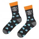 SOXO men's socks with 40-45 inscriptions