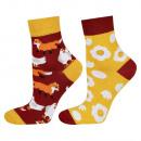 SOXO GOOD STUFF women's socks mismatched