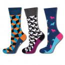 SET SOXO GOOD STUFF men's socks - 3 pack