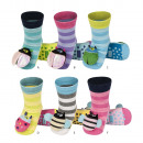 Großhandel Fashion & Accessoires: SOXO Socken Babyrassel mit ABS