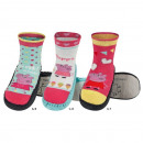 wholesale Shoes: Children slippers  MUMPS PEPPA with leather soles