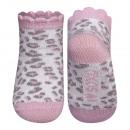 Calze leopardo SOXO - rosa