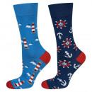 SOXO men's socks mismatched 40-45