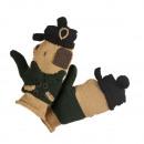 Großhandel Handschuhe: Damen-Handschuhe,  SOXO, Handschuhe mit einem Hund
