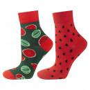 SOXO socks for women, colorful