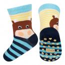 Großhandel Strümpfe & Socken: SOXO Babysocken mit Bauchmuskeln - Hippo