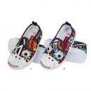 Sneakers, pantofole per bambini SOXO, ritorno a sc