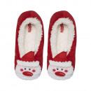Christmas slippers, women's slippers, Santa Cl