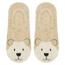 SOXO women's feet - teddy bear