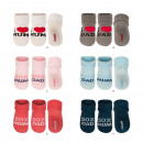 wholesale Childrens & Baby Clothing: Baby socks, SOXO,  I LOVE LOVE MUM AND DAD