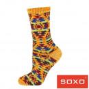 Großhandel Strümpfe & Socken: Socken für Frauen, SOXO, gemusterte Socken für Fra
