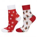 Women's socks for a gift, SOXO Christmas