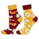 SOXO women's socks, mismatched