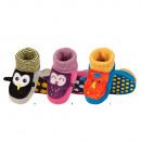 Großhandel Schuhe: Hausschuhe Babyschuhe SOXO Tiere