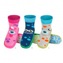 wholesale Shoes: Children slippers SOXO leather sole
