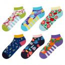 Großhandel Strümpfe & Socken: SET 6pairs SOXO bunte Socken Damenfüße