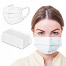 DISPOSABLE MASK PROTECTIVE FACE MASK - 24H