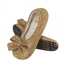 wholesale Shoes: Ballerinas women,  SOXO, with bow, women's slip