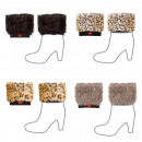 Großhandel Strümpfe & Socken: kurze Pelzbeinwärmer Frauen SOXO