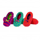 wholesale Shoes: Ballerina SOXO in  neon colors, slippers