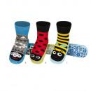 grossiste Chaussures: Chaussons pour  enfants pantoufles avec semelles en