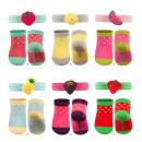 Set van kinderen Soxo sokken en hoofdband