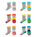 Baby socks SOXO wristbands with soles ABS