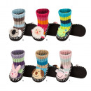 wholesale Shoes: Children slippers SOXO knitted, for winter
