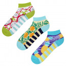 wholesale Stockings & Socks: SET 3pak Colorful SOXO socks women's feet