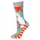 SOXO GOOD STUFF women's socks parrots 35-40