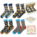 SOXO GOOD STUFF men's socks in a box of 4 pair