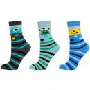 SOXO 3 pack terry children's socks 29-32