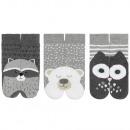 SOXO children's socks 3 pack terry 23-35