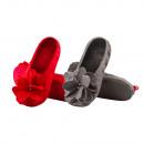 wholesale Shoes: Ballerina slippers  for women SOXO felt roses PREMI
