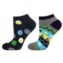 Großhandel Strümpfe & Socken: Männerfuß SOXO GOOD STUFF Eier - 2er Pack